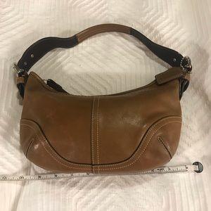 Coach Cognac Leather Small Soho Hobo Bag w dustbag
